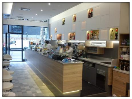 Arredamento bar ristoranti pasticcerie gelaterie astor for Martini arredamenti ribolla