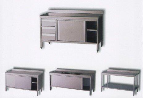 Mobili cucina inox – Piani lavoro cucina acciaio inox